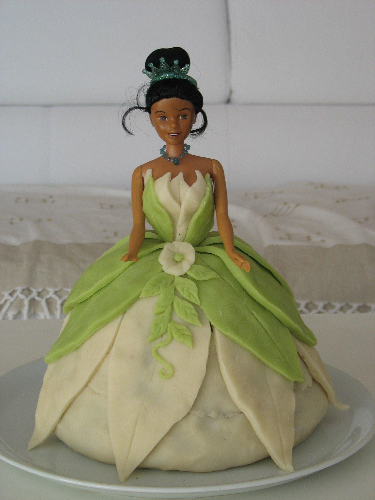 Once upon a time g teau princesse tiana - Gateau anniversaire princesse facile ...